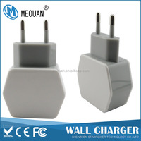 MEOUAN 5V3.1A 2USB travel usb charger for mobile phone