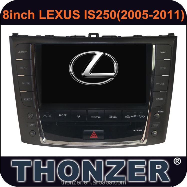 Car DVD Player with GPS for Lexus IS250 2005-2011 with high quality