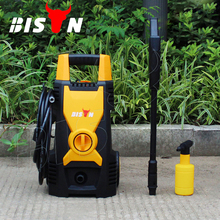 BISON(CHINA) 1.6KW Portable Single Phase Electric High Pressure Car Wash Machines For Sale Prices