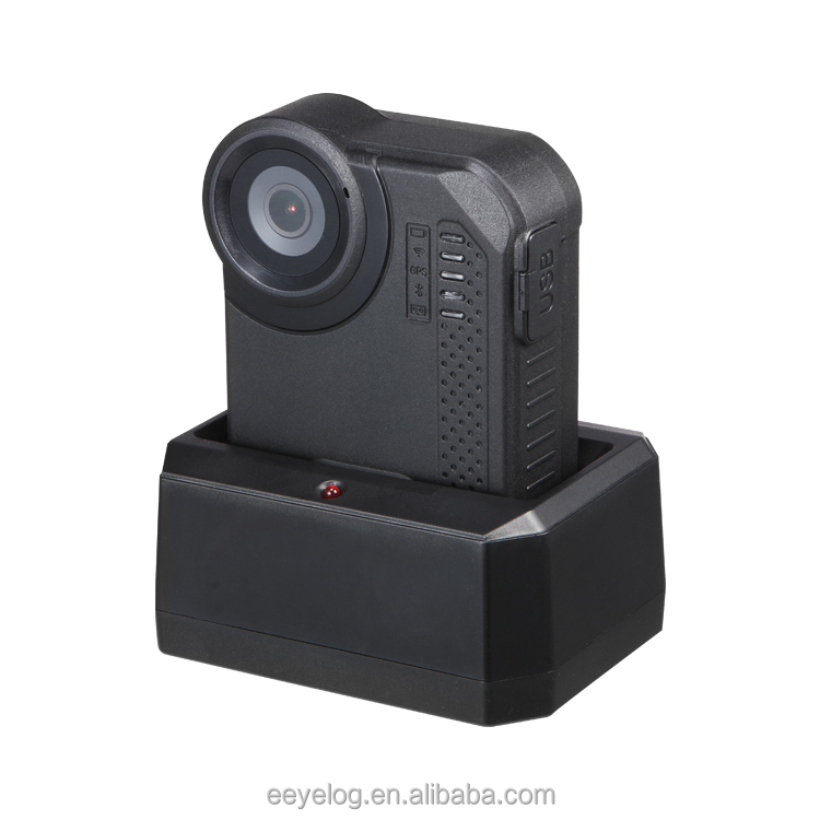 Eeyelog Ambarella A12 Body Worn Camera with WIFI Video Live Stream for Law Enforcement