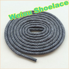 Weiou 2015 New design custom made shoe laces shoestring designs round laces