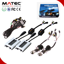 Lattest car motorcycle truck universal high lumen HID headlight xenon conversion kit H1 H7 H11 HB3 HB4 lightstorm xenon hid 75w