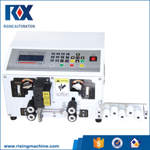 Fully automatic cable wire cutting and stripping machine