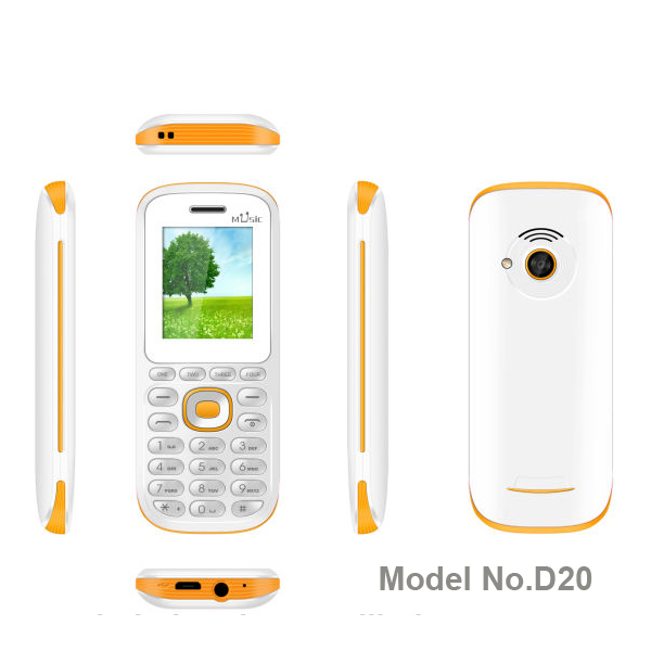 hot selling high quality spreadtrum chip 1.77 inch cell phone OEM order with CE certification whatsapp facebook model D20