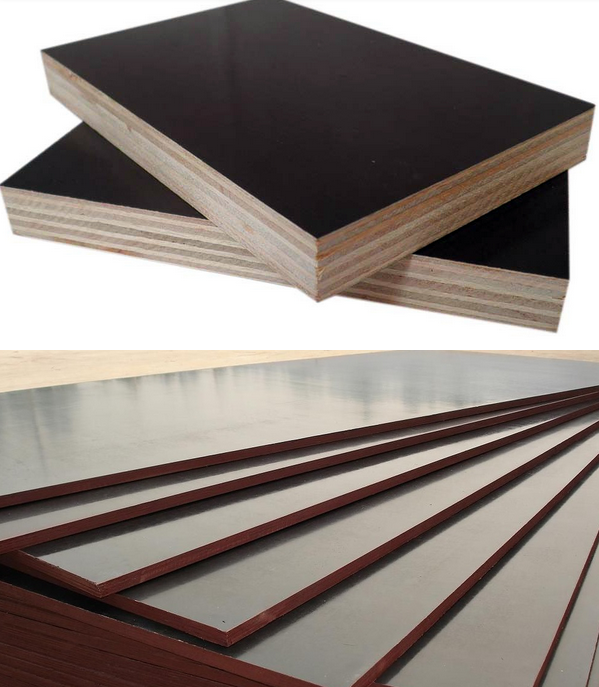 Finger joint recycled core film faced plywood 18mm