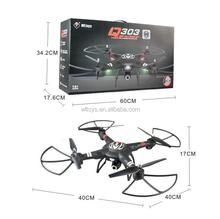 New WLtoys Q303 2.4G 4CH 6-axis 5.8G FPV rc quad copter with camera and intelligent altitude