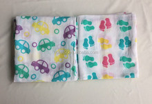 Baby receiving swaddle wrap bamboo fiber