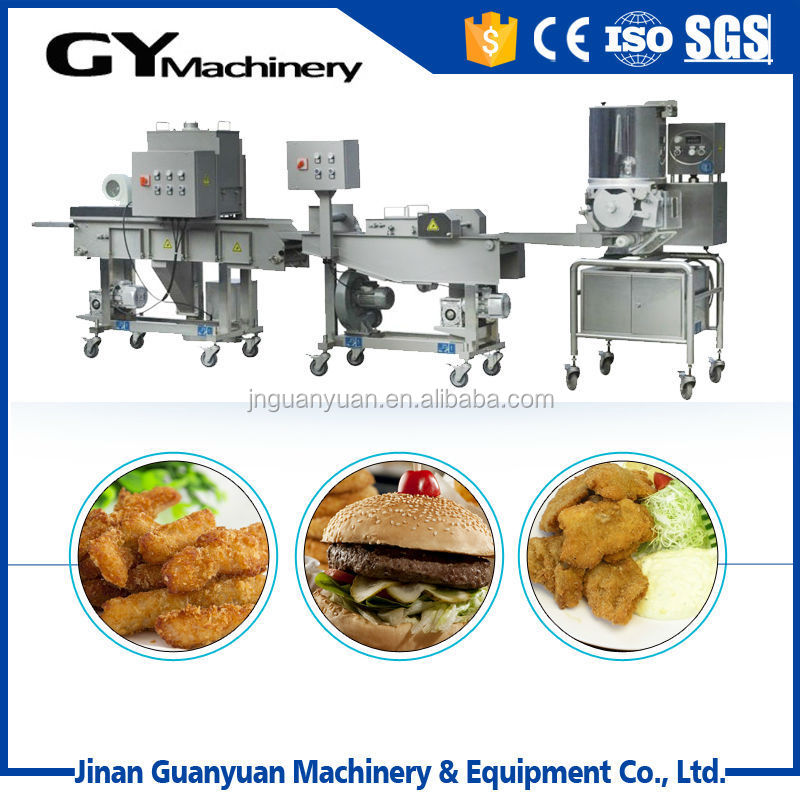 New stainless steel meat/beef/chicken burger food machine