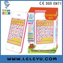 Best selling of Y-Pad English Learning Machine,Y PAD Learning Toys For Kids,Pink and Blue Mixed,Music and Led Light