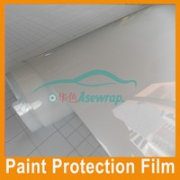 High Clear 1.52*15m Car Surface Paint Protection Film self adhesive pvc film