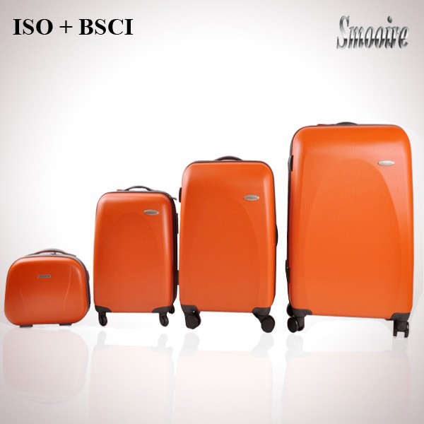 4 pieces sets PC japanese luggage with a beauty case