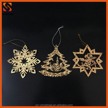 laser cut wooden christmas decorations