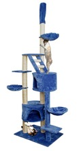 Assembled and sturdy arbre chat, wood cat tree natural, cat tree wooden
