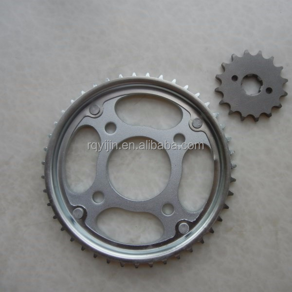 best quality motorcycle chain sprocket kit for sale