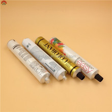new year medicated toothpaste aluminum tube
