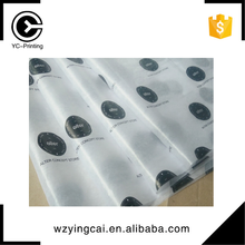 Manufacturer supplier gift wrapping printed logo wholesale florist tissue wrapping paper