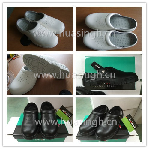high quality ESD functions hotel work use injected safety clogs for kitchen room
