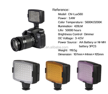 For Camera DV Camcorder Nanguang CN-LUX560 Lighting LED Video Light Led Photography Light