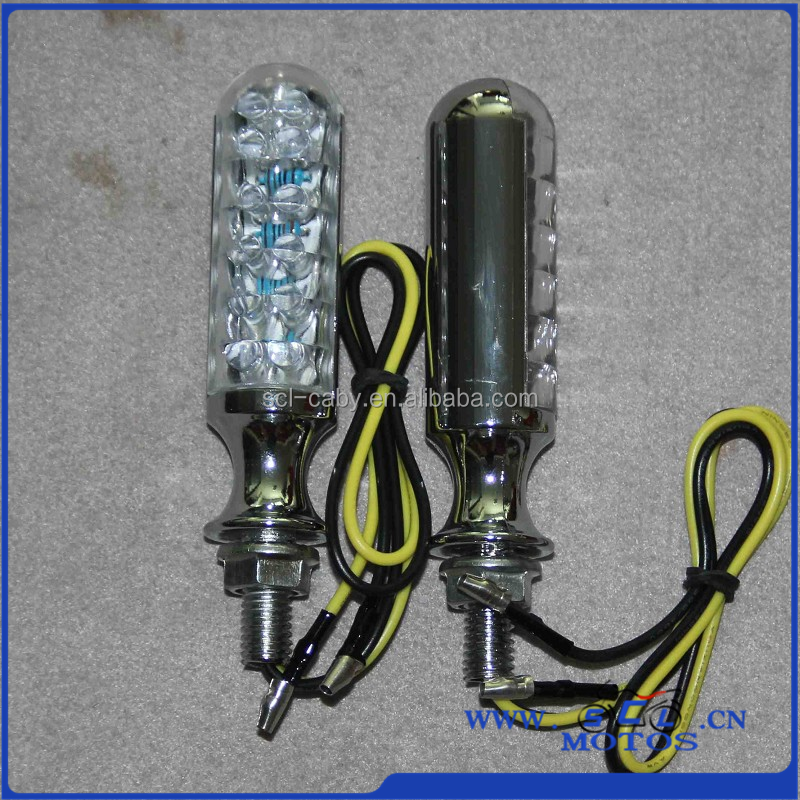 SCL-2013060259 motorcycle led winker lamp indicator light