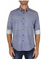 2013 new fashion check pattern new design short sleeve men's casual shir