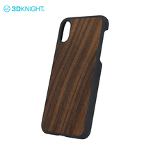 Elegant Walnut custom Wood mobile phone case for iphone case X wood wholesale,for iphone X blank wooden pattern cell phone case