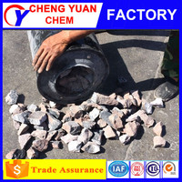 100kg iron drum gas yield 295kg/l calcium carbide stone