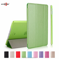 New Arrival Colorful PU Flip Cover Magnetic Case for iPad Air