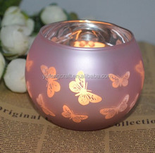 custom made butterfly motive and a logo print glass lamps wholesale