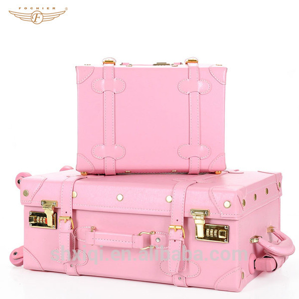 Pink Vintage Suitcase Old Looking - Buy Vintage Suitcase,Pink ...
