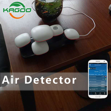 KAGOO Free Combination Pm & Tvoc & T.H.I.N. Air Quality Sensor Free Combination Air Quality Monitor Pm2.5