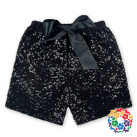 2016 hot wholesale baby cotton sequin petti shorts boutique blank board sequin shorts for children baby girls summer pants