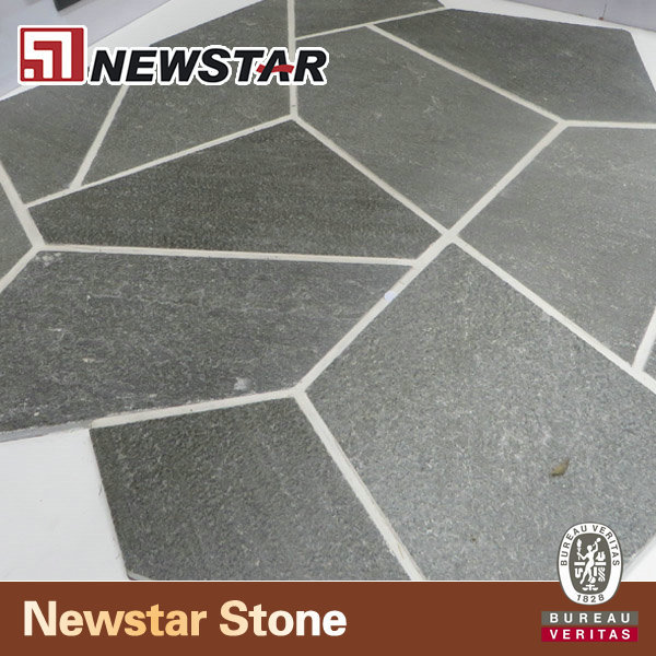 cheap natural slate crazy paving stone
