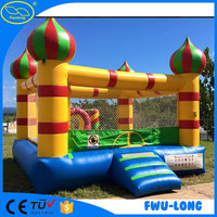 0.6~0.9 mm PVC tarpaulin inflatable bouncer castle / inflatable bouncy castle / bouncy house for kids