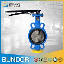 4 inch water ci di body hs code for butterfly valve