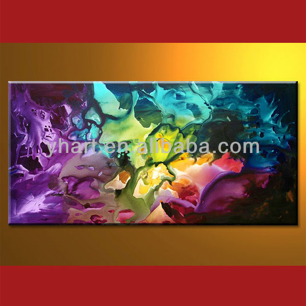 Home decoration abstract canvas art images on sale