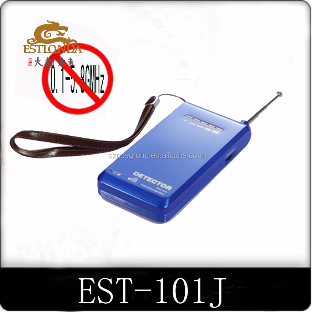 Custom 101J Wireless Signal Bug Camera Detector With 10m Interception