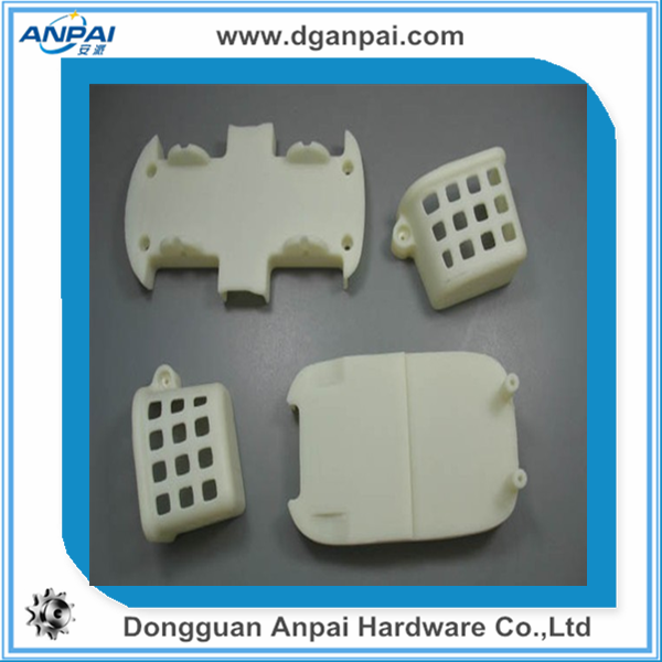 CNC plastic parts, clear plastic processing fabrication service (POM, noly, ABS, Derlin)