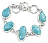 Jewelry auction, Now larimar punta cana, Real stone beads