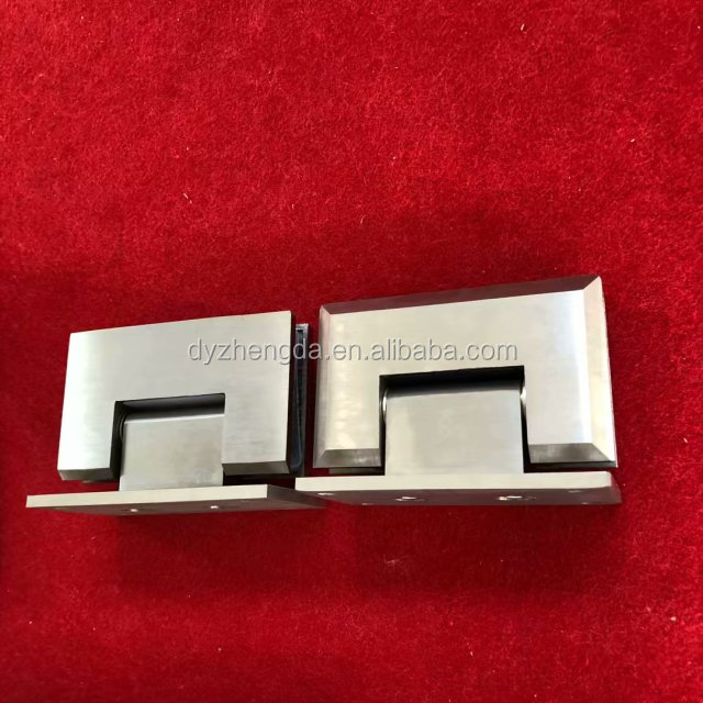 glass to glass stainless steel pool fence hydraulic hinge