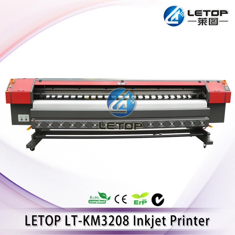 High quality! Letop TR3208 using 8pcs konica head KM512i large format kornit digital printer