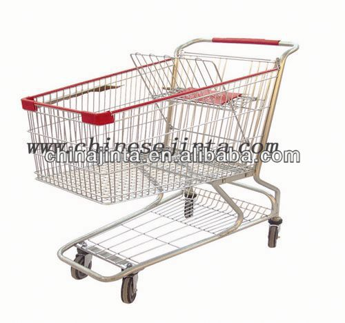 cooler shopping cart