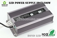 custom sign 200w Smps 12v dimmable led driver and power supply