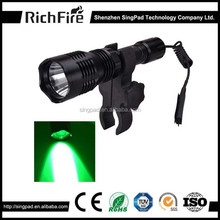 high power hunting torch ,mini night hunting torch light, rechargeable long distance torch hunting torch flash light