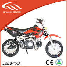 Chinese dirt bike made in zhejiang 50cc by kick starter