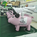 Giant Helium Pig Balloons ,Inflatable Fying Pig Cartoon for Promotion