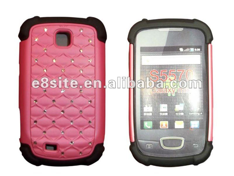 Full Star Combo Case For SamSung S5570 Galaxy Mini