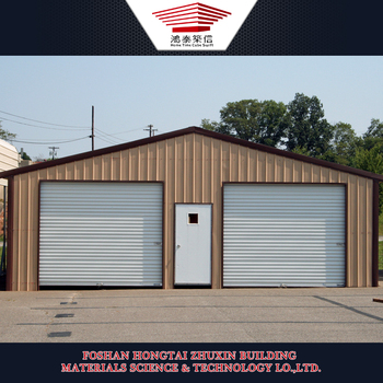 Lightweight Weather Proof Prefab Steel Garage for Prefab Carport
