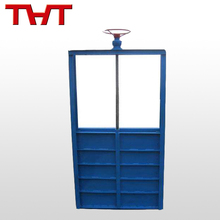 DN 800 penstock sliding gate valve / cheap water valve