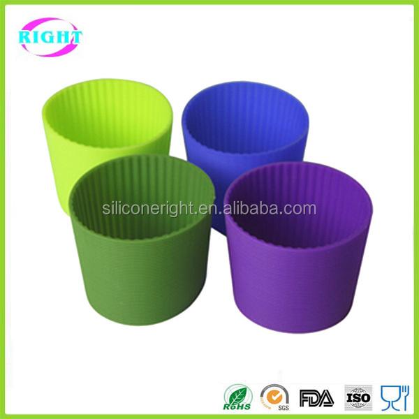 Custom Silicone Coffee Cup Sleeve Hot Cup Sleeve Buy