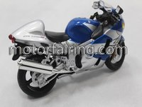 Suzuki gsxr1000 blue Motorcycle model for home decoration